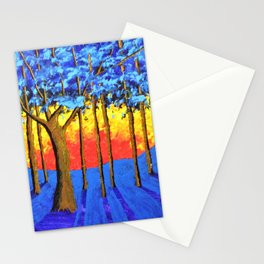 Twilight Woods Stationery Cards