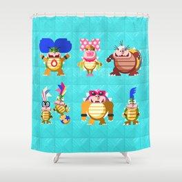Koopalings! Shower Curtain