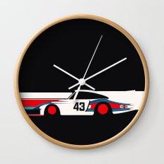 Moby Dick - Vintage Porsche 935/70 Le Mans Race Car Wall Clock