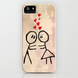 Kiss me ! iPhone Case