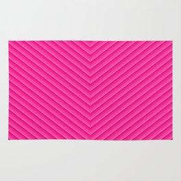 Blush Pink Chevron Rug
