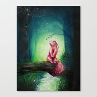 kodama Canvas Prints featuring KODAMA by _Shara_