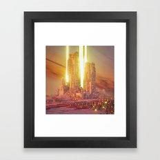 BEAM (everyday 06.06.16) Framed Art Print