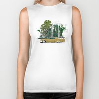 drive Biker Tanks featuring Drive by Suzie-Q