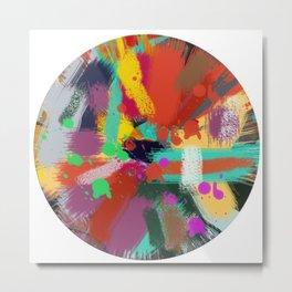 Color clock Metal Print