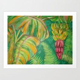 """Banana Patch"" Art Print"