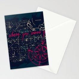 Go Where You Wanna Go Stationery Cards