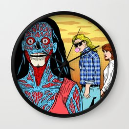 They Look Back Wall Clock
