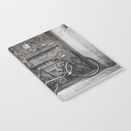 Bicycles Of Tuscany10 Notebook