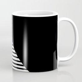 Blue & Black Geometric Abstraction Coffee Mug