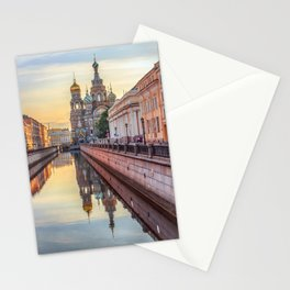 Church of the Savior on Blood, Saint Petersburg, Russia Stationery Cards