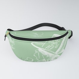 Mad Hatter and Teapots Fanny Pack