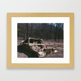 Its a Jeep thing...  Framed Art Print