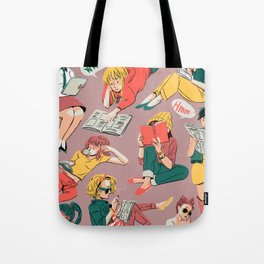 Reading Gals Tote Bag