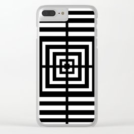 Illusionist II Clear iPhone Case