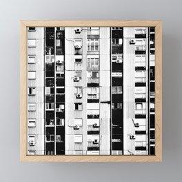 Belgrade | Takovska | black and white Framed Mini Art Print