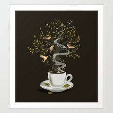 A Cup of Dreams Art Print
