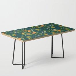 Citrus Tree - Navy Coffee Table