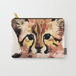 Leo the leopard Carry-All Pouch