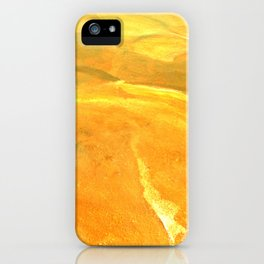 Golden Desert iPhone Case
