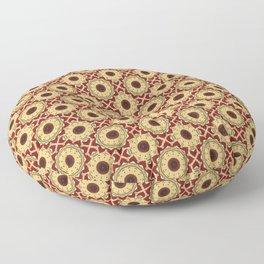 Yule Mandala Floor Pillow