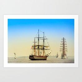 Sail Boston - Oliver Hazard Perry Art Print