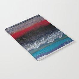Alien terrain Notebook