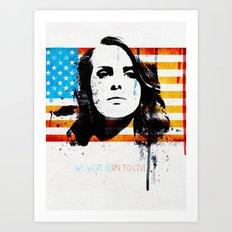 Born to dream Art Print