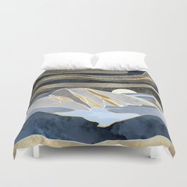 Metallic Sky Duvet Cover