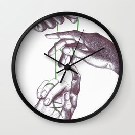 Teathered Wall Clock