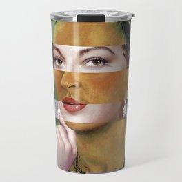 Frida's Self Portrait with Hand Earrings & Ava Gardner Travel Mug