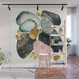 Pebble Abstract Wall Mural