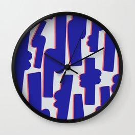 Blue Candy Wall Clock