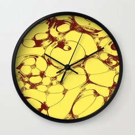 Doodle design 5 Wall Clock