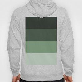 Grey Horizontal Stripes Design Hoody