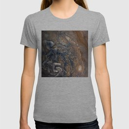 Swirling Clouds of Planet Jupiter Close Up from Juno Cam T-shirt