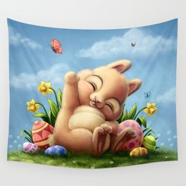 A little Easter bunny Wall Tapestry