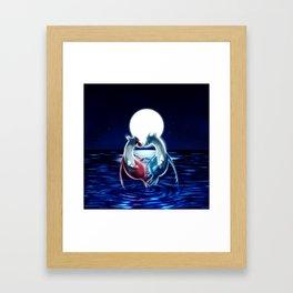 Latios y latias Framed Art Print