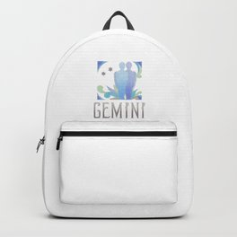 Gemini - air sign Backpack