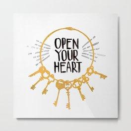 Open Heart Metal Print