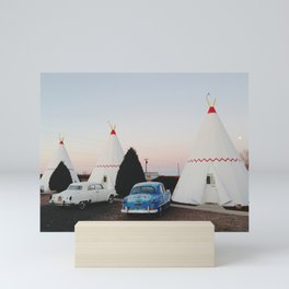 Wigwam Motel Mini Art Print