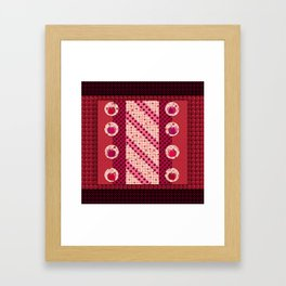 Cherry red  Framed Art Print
