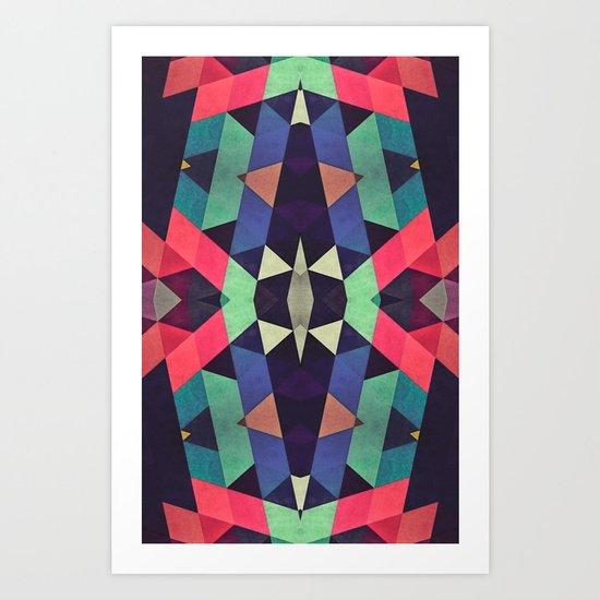 Cristals Art Print