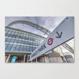 Wembley Stadium London Canvas Print