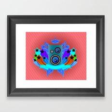 Music King Framed Art Print