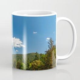 Carpathian Mountains Landscape, Summer Landscape, Transylvania Mountains, Forests Of Romania, Travel Coffee Mug