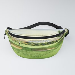 Carnoustie Golf Course Scotland 13th Green Fanny Pack