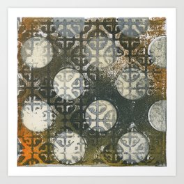 Circles4 Art Print