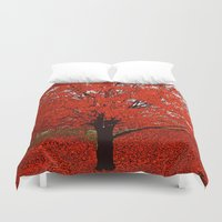 trees Duvet Covers featuring  Trees  by Saundra Myles