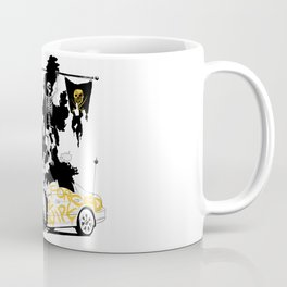 Born 2 Shit - Forced 2 Wipe Coffee Mug